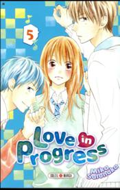 Vente  Love in progress T.5  - Mika Satonaka