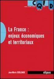 La France : Enjeux Economiques Et Territoriaux - Intérieur - Format classique