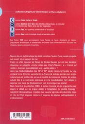 La France : Enjeux Economiques Et Territoriaux - 4ème de couverture - Format classique