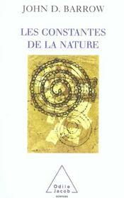 Les Constantes De La Nature - Intérieur - Format classique