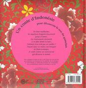 Nakiwin le jardinier bienheureux (+cd) - 4ème de couverture - Format classique