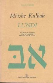 Lundi - Couverture - Format classique