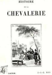 Histoire De La Chevalerie - Couverture - Format classique