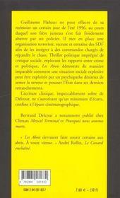 Les Abois - 4ème de couverture - Format classique