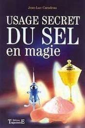Usage Secret Du Sel En Magie - Couverture - Format classique