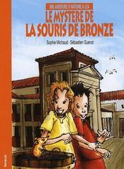 Une aventure d'Antoine & Léa ; le mystère de la souris de bronze - Intérieur - Format classique