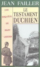 MARY LESTER T.18 ; le testament duchien - Intérieur - Format classique
