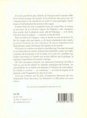L'Envergure Du Monde - 4ème de couverture - Format classique