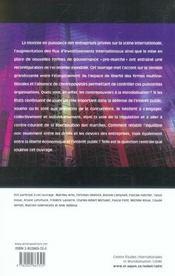 Globalisation et pouvoir des entreprises - 4ème de couverture - Format classique