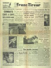 Franc Tireur N°2563 du 25/10/1952 - Couverture - Format classique