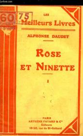 Rose Et Ninette - Moeurs Du Jour - Tome 1 - Couverture - Format classique