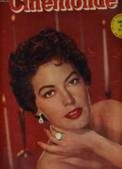 CINEMONDE - 21e ANNEE - N° 977 - AVA GARDNER toujorus reine de Hollywood - Couverture - Format classique