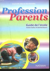 Vente  Profession Parents  - Alain Bentolila