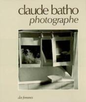 Claude Batho Photographe - Couverture - Format classique