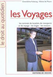 Voyages (Les) - Intérieur - Format classique