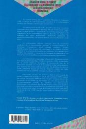 L'organisation mondiale du commerce et le renforcement de la réglementation juridique des échanges commerciaux - 4ème de couverture - Format classique