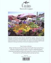 Caraibes - 4ème de couverture - Format classique