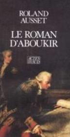Le Roman D'Aboukir - Couverture - Format classique