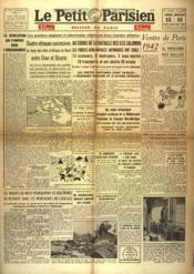Petit Parisien Edition De Paris 5 Heures (Le) N°23825 du 15/08/1942 - Couverture - Format classique