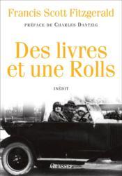 Des livres et une Rolls - Couverture - Format classique