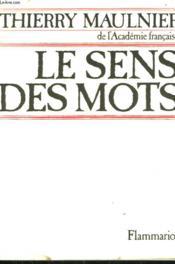 Le Sens Des Mots. - Couverture - Format classique
