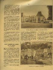 LA REVUE DU TOURING CLUB DE FRANCE N°465, AOUT 1933, 43e ANNEE. LE REGNE DE LA BICYCLETTE POLYMULTIPLIEE par EDMOND CHAIX / LE BIOU D'ARBOIS par J.A. GIRARD / MANIFESTATION AERIENNE D'AUXERRE, LA FÊTE DE PRINTEMPS A PARIS ET LYON, CROIZIERE EN CANOË... - Couverture - Format classique