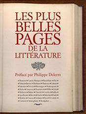 Les plus belles pages de la littérature - Intérieur - Format classique