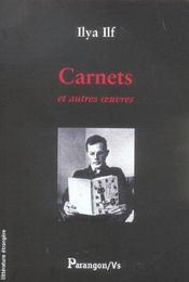 Carnets et autres oeuvres - Intérieur - Format classique