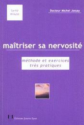 Maitriser Sa Nervosite - Intérieur - Format classique