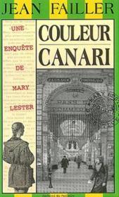 Mary Lester T.21 ; Couleur Canari - Couverture - Format classique