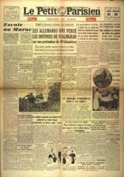 Petit Parisien Edition De Paris 5 Heures (Le) N°23837 du 29/08/1942 - Couverture - Format classique