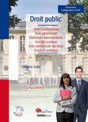Droit public (2e édition) - Couverture - Format classique