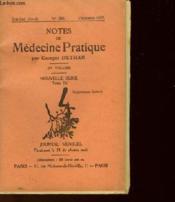 Notes De Medecine Pratique - Tome 4 - Journal Mensuel N°283 - Couverture - Format classique