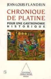 Chronique De Platine - Couverture - Format classique