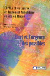 Art Et L'Urgence Des Possible - Couverture - Format classique