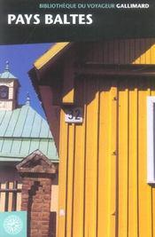 Pays Baltes (Estonie Lettonie Lituanie) - Intérieur - Format classique