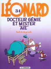 Léonard t.34 ; docteur génie et mister aïe - Intérieur - Format classique