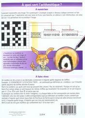 Petit Guide T.102 ; Les Mathématiques T.3 ; Les Nombres - 4ème de couverture - Format classique