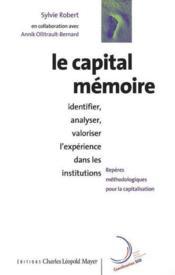 Capital Memoire (Le) - Couverture - Format classique