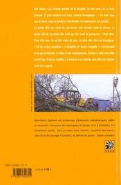 Avis ; vies de tempete - 4ème de couverture - Format classique