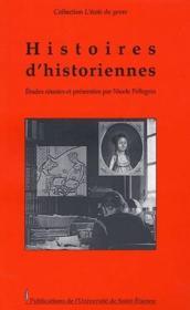 Histoires d'historiennes - Couverture - Format classique