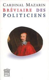 Bréviaire des politiciens - Couverture - Format classique