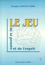 Le Jeu De La Pensee Et De L'Esprit - Couverture - Format classique