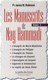 Les manuscrits de Nag Hammadi t.1 - Couverture - Format classique