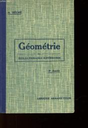 Geometrie - Ecoles Primaires Superieures - Couverture - Format classique