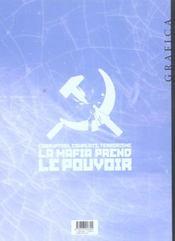 Les nouveaux tsars t.3 ; les fous de bakou - 4ème de couverture - Format classique