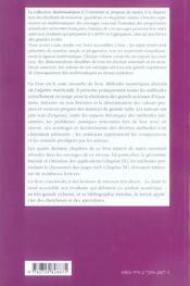 Methodes Numeriques Iteratives Niveau M1 Cours Et Exercices Corriges - 4ème de couverture - Format classique