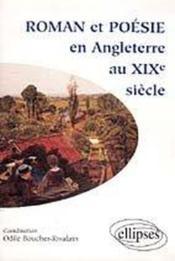 Roman Et Poesie En Angleterre Au Xixe Siecle - Couverture - Format classique
