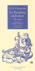 Le Paradoxe Ambulant ; Cinquante Neuf Essais - Intérieur - Format classique