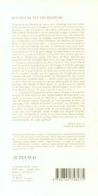 Le Paradoxe Ambulant ; Cinquante Neuf Essais - 4ème de couverture - Format classique